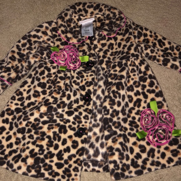 Bonnie Baby Other - Leopard coat